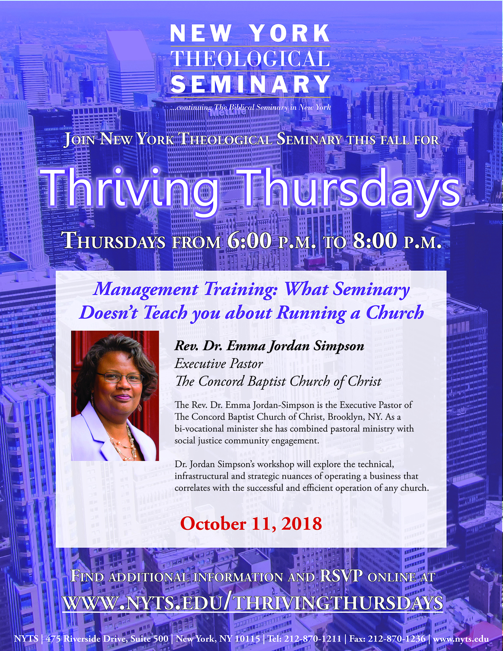 Thriving Thursdays October