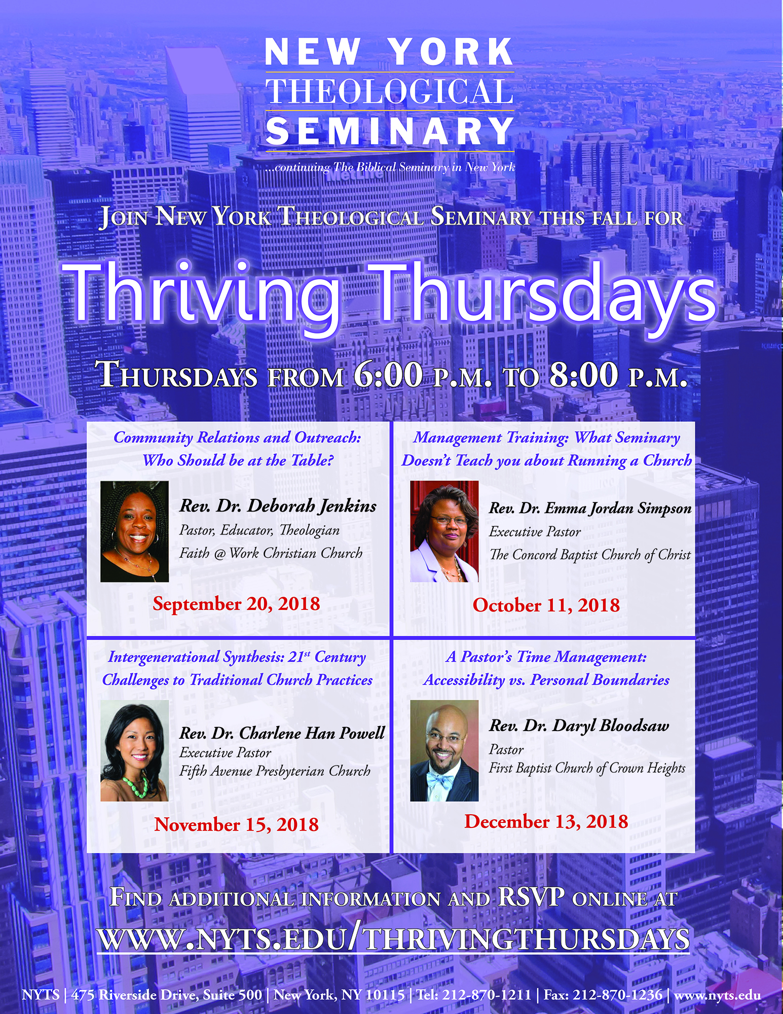 Thriving Thursdays Flyer