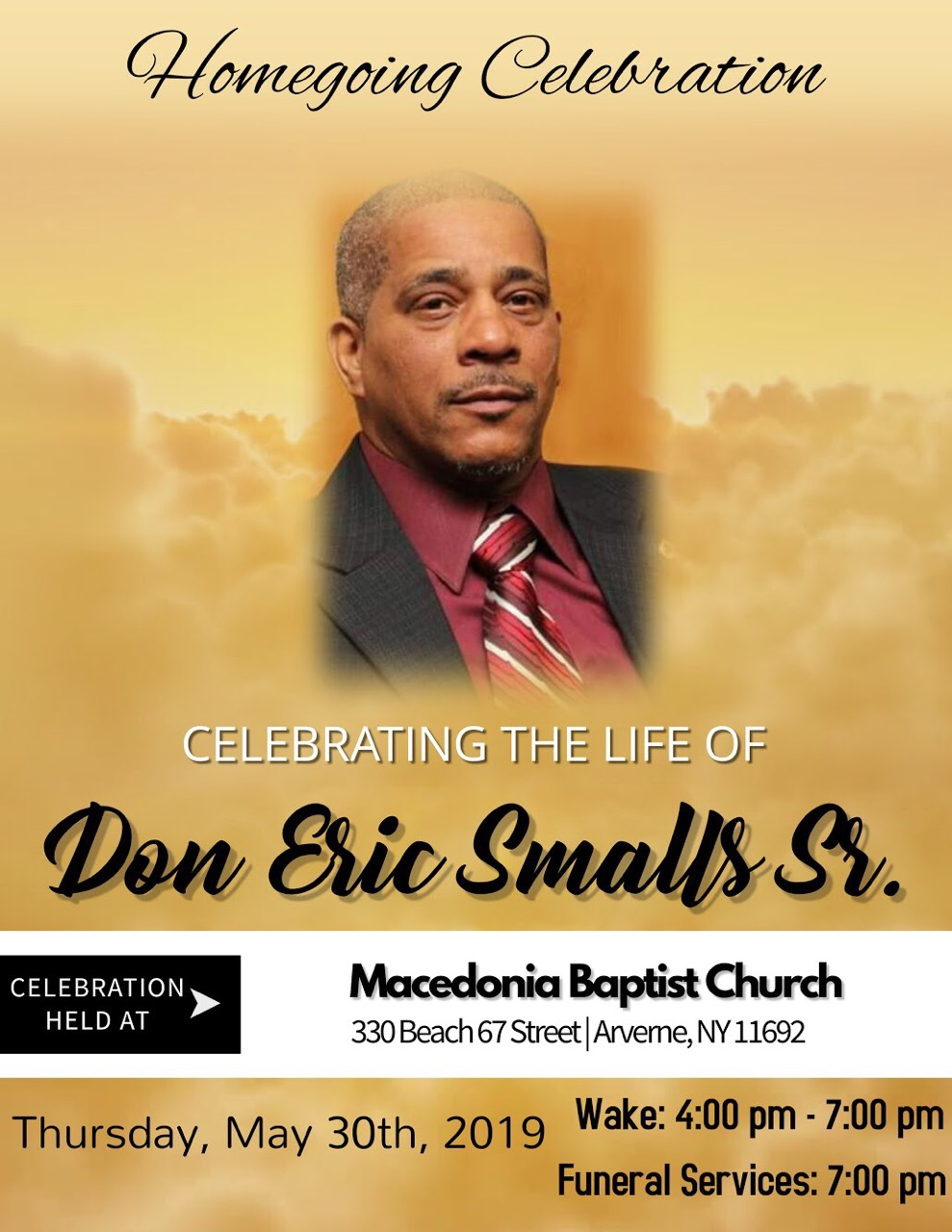 Don Smalls Homegoing