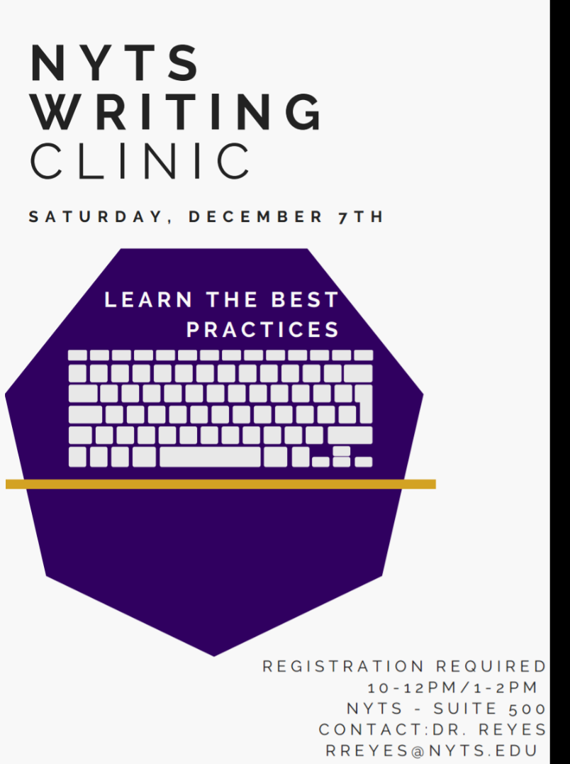 NYTS Writing Clinic