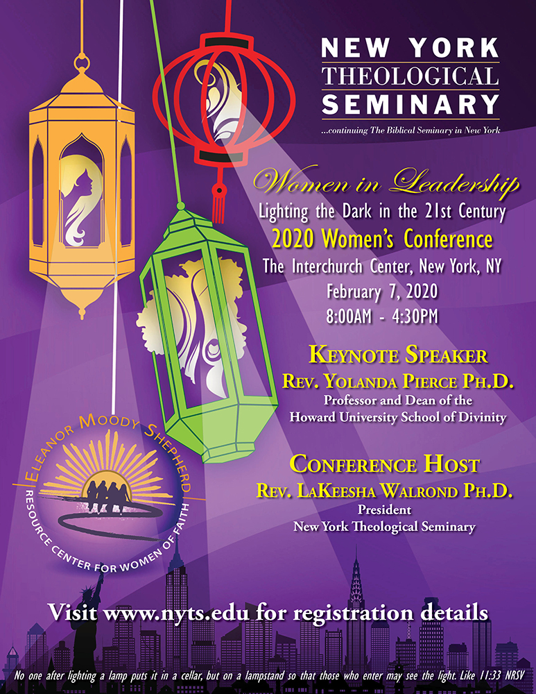 2020 Women's Conference Flyer